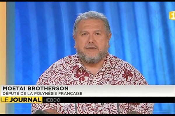 Invité du journal : Le deputé indépendantiste Moetai Brotherson
