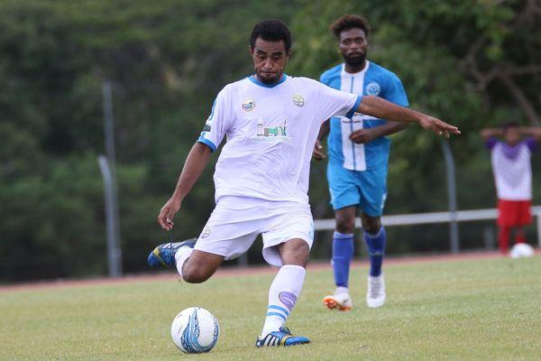 Le défenseur de Hienghène William Yentao