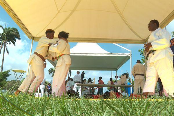 Martinique Summer Games judo