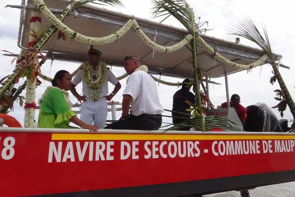 Un bateau d'intervention pour Maupiti