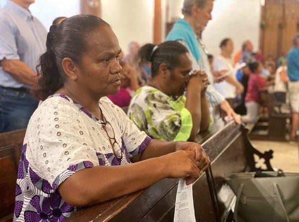 Toussaint 2020, cathédrale de Nouméa