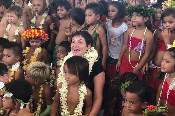 Pour Annick Girardin, Bora Bora est un exemple en matière de développement durable