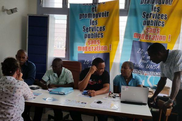 L'UNSA se mobilise dan le dossier du syndicat unique de l'eau