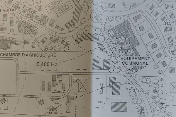 Plan d'aménagement de la zone du Morne Bernard 1995