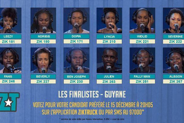 Les 12 finalistes de Ziktruck