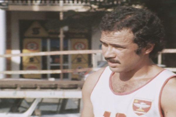 Michel Castex en préparation pour les Jeux du Pacifique 1979
