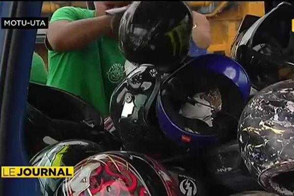 Sécurité routière : une centaine de casques inadaptés au pilon