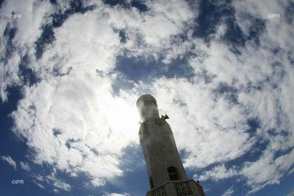 Mosquée minaret