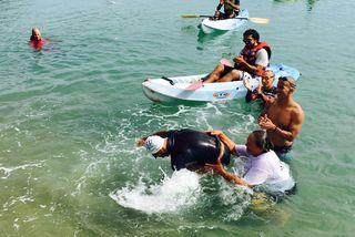 Traversée à la nage Tibarama Poindimié