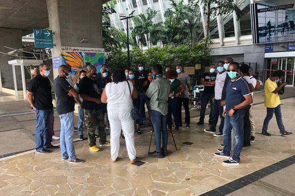 Agents de sûreté en grève