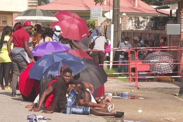 migrants haitiens
