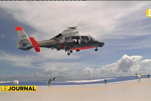 Un héliport pour les hôpitaux de Moorea et de Taravao