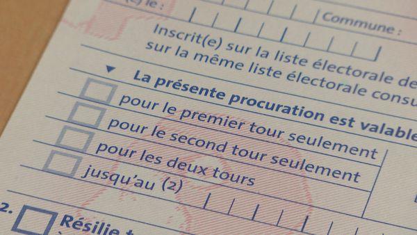 Procurations, formulaires, NC la 1ere