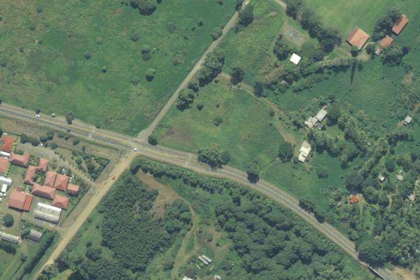 Vue satellite RP1-route de la mission de Saint-Louis