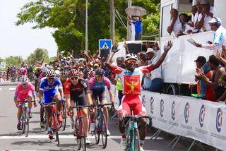 Victoire Cédric Ramothe 1ère étape 2018
