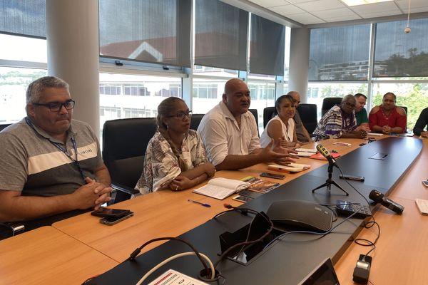 Les salariés de Valé livrent leurs inquiétudes au ministre des Outre-mer