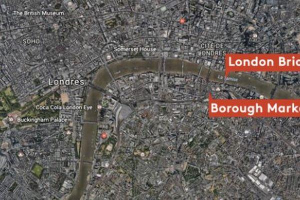 Les attaques ont eu lieu dans des quartiers très fréquentés de Londres