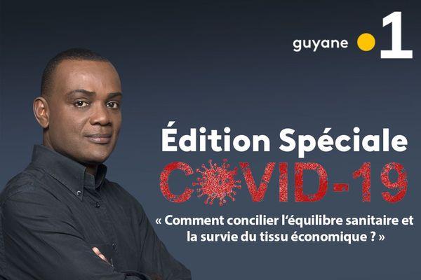 Edition Spéciale Covid-19 sur Guyane la 1ère