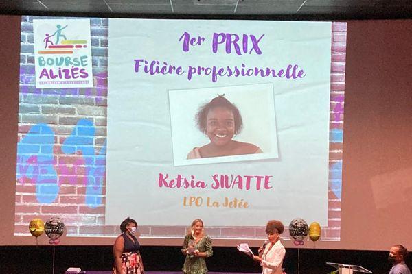 Ketsia Sivatte Bouse Alizés 1er prix pro