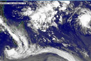 Une dépression et une tempête modérée à l'Est et à l'Est de La Réunion