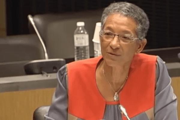 Chantal Berthelot à l'Assemblée Nationale