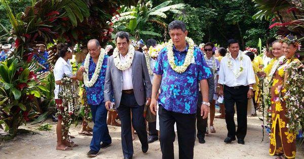 Inauguration de l'école pastorale protestante à Tahaa