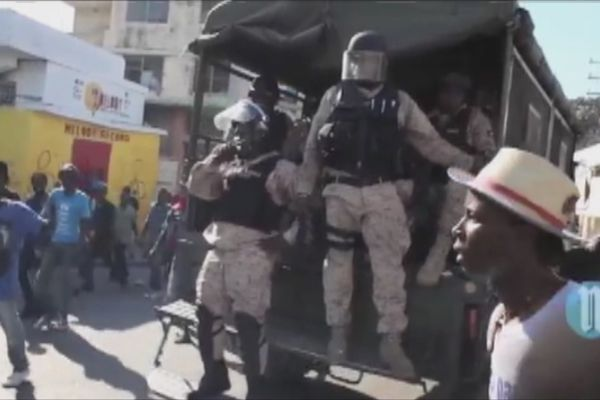 Manifestation en Haïti