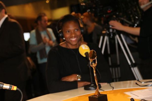 Le trophée du sportif ultramarin 2013 avec Muriel Hurtis