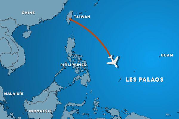 Première bulle de voyage entre Taïwan et les Palaos en Micronésie