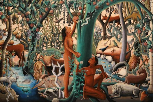 Paradis terrestre de Wilson Bigaud, 1952 Port-au-Prince