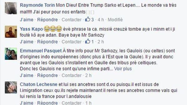 Sarkozy et les Gaulois