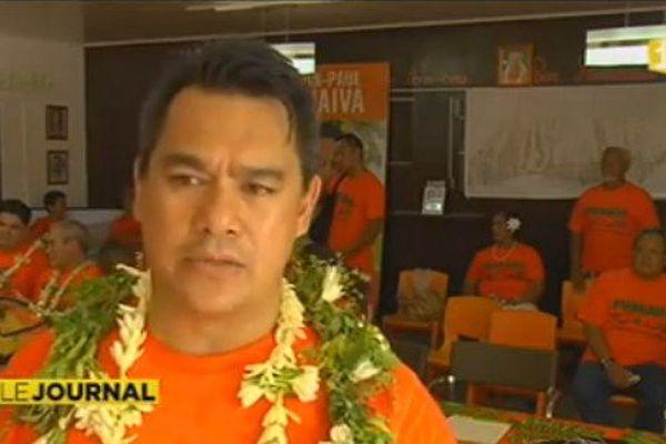 Jean Paul Tuaiva, député de la 3e circonscription