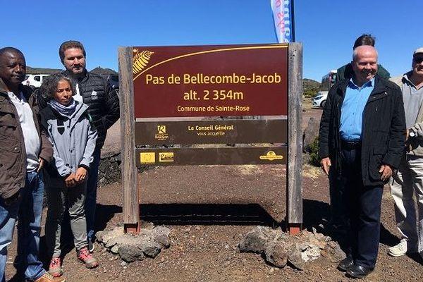La ville de Sainte-Rose inaugure ce mercredi 28 août, le « Pas de Bellecombe-Jacob ».