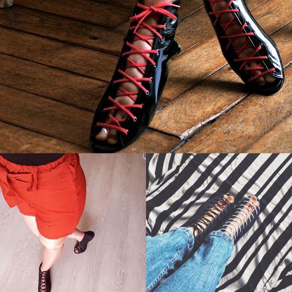 Sarah a lancé sa marque de chaussures de danse à talons plats