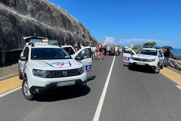télévison tournage série OPJ 974 Cap Lahoussaye 230121