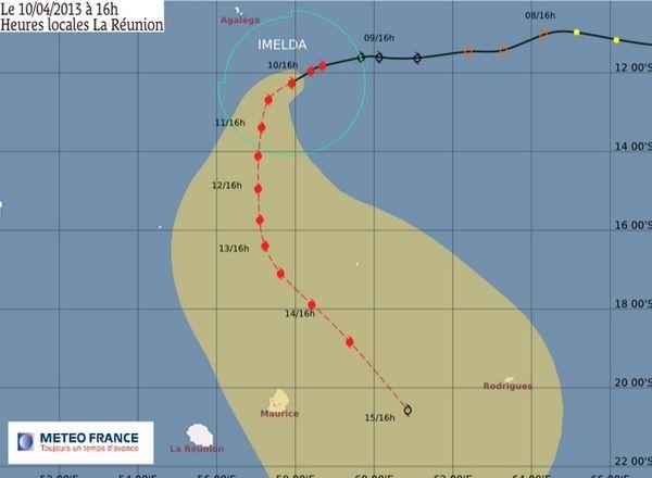 Cyclone Imelda le point