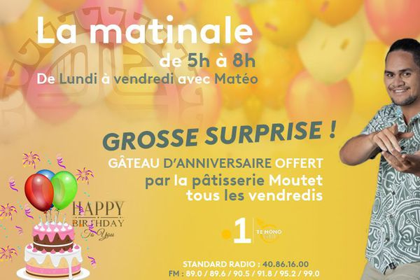 """Grosse Surprise"" sur radio"