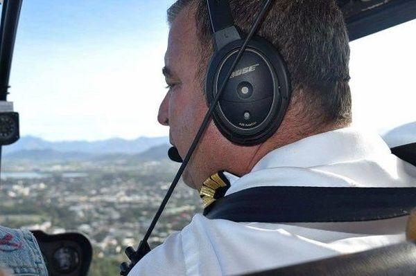 Benoît Fogliani, le pilote d'hélicoptère calédonien qui voulait réaliser son rêve