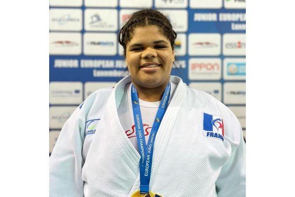 Judo Léa Fontaine championne d'Europe Junior au Luxembourg 120921