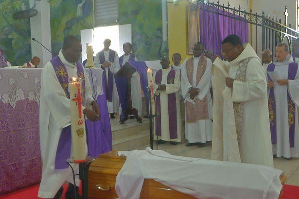 Funérailles du P. Brice Gourdin