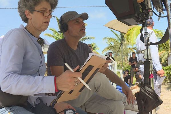 """Tournage en Guyane de la série télé """"Meurtre à ..."""""""