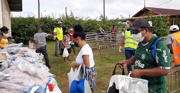 Opération solidarité poisson à Saint-Georges