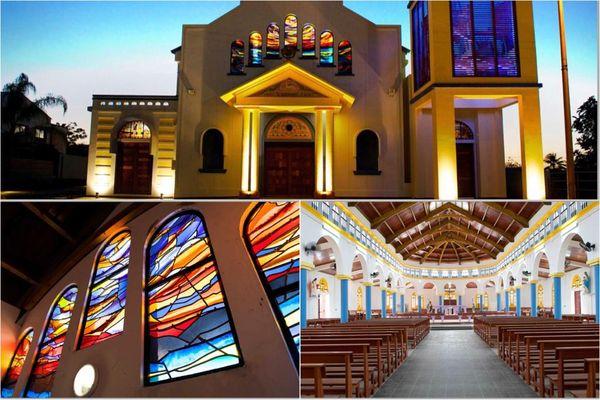 Eglise de Rivière-Salée bourg / religion