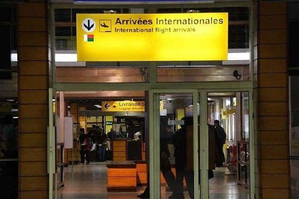 Arrivée aéroport de Tana