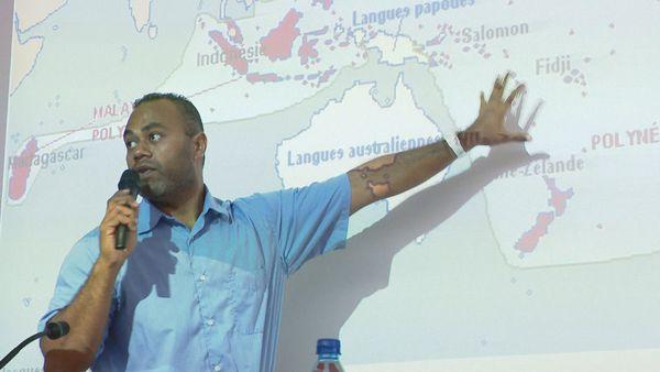 rencontre lycéens Baise Pascal et Do Kamo. Jean-Marie Wadrawane, archéologue