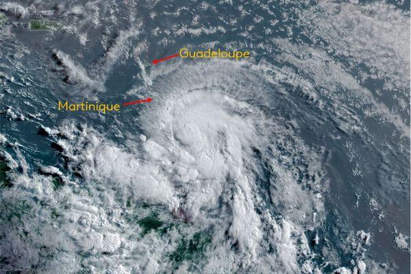 Elsa évolution en ouragan vendredi matin