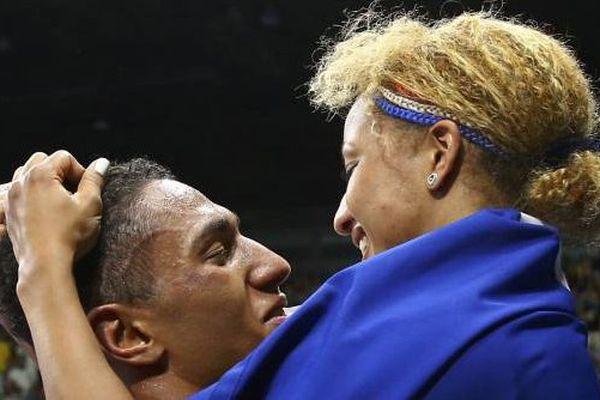 Le couple français remporte la médaille d'or en boxe