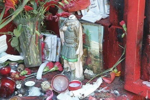 Saint-Expedit vandalisé