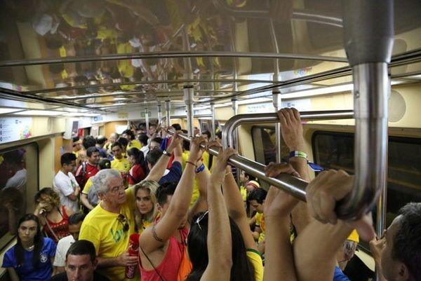 rame métro Maracana