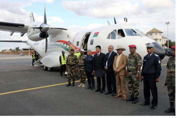 avion militaire madagascar